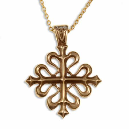 Bronzen KruisCalatrava
