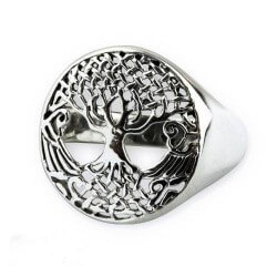 Tree of life Zilveren Ring
