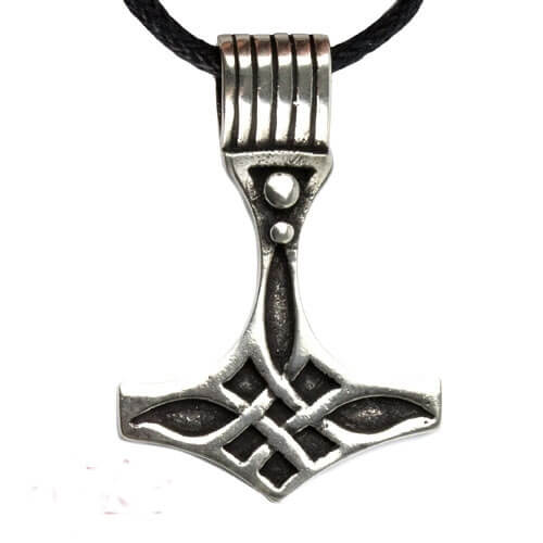 Thor's Hammer zilveren hanger