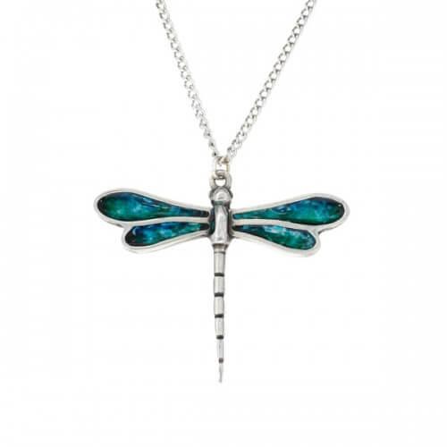 Libelle geëmailleerde hangerLibelle geëmailleerde hanger