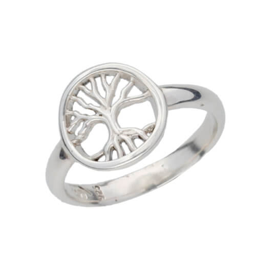 Tree of Life doorboorde ring