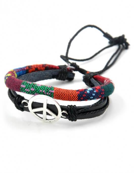 Vrede en Liefde armband