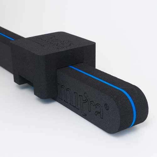 Zwart Kussen + zwart Blauw back