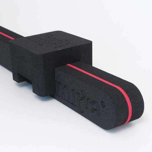 BackMitra Zwart-Rood + zwart Kussen