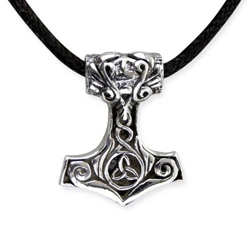 Thor´s Hammer zilveren hanger