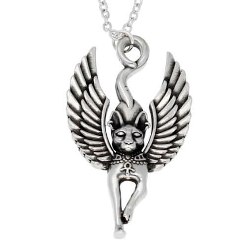 Egyptische cat god hanger