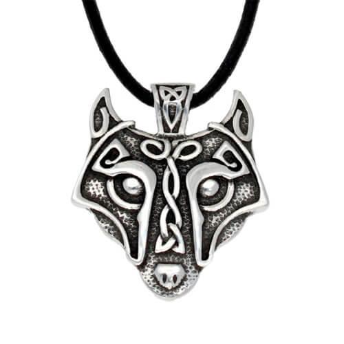 Viking wolf hanger