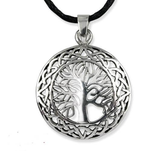 Zilveren Tree of Life hanger