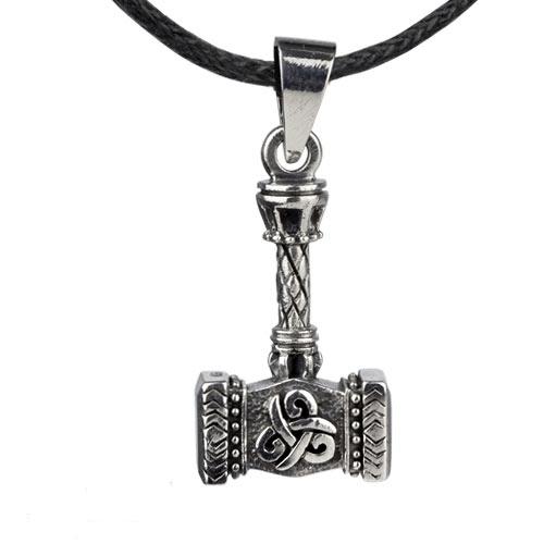 Zilveren hanger Keltische bijl
