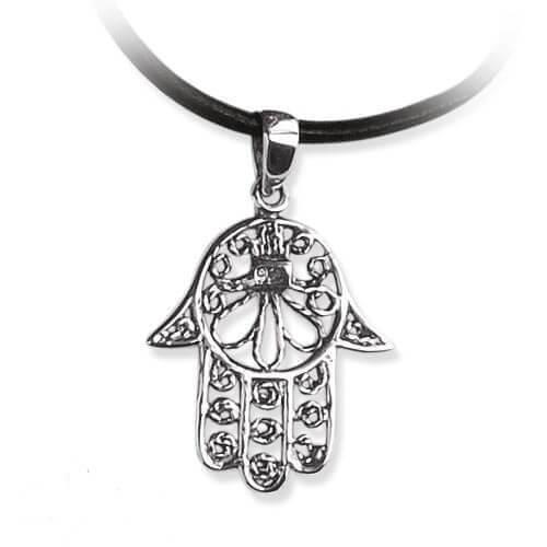Zilveren hanger hand van Fatima
